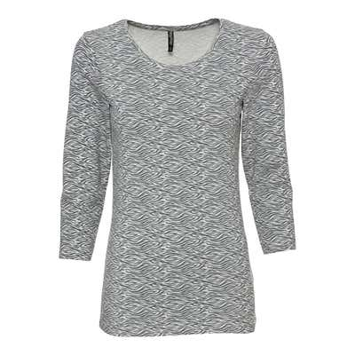 Damen-Shirt mit trendigen Mustern