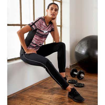 Damen-Jogginghose mit elastischem Bund