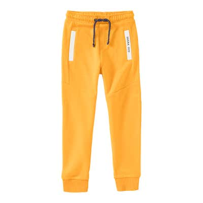Jungen-Jogginghose in sonniger Farbe