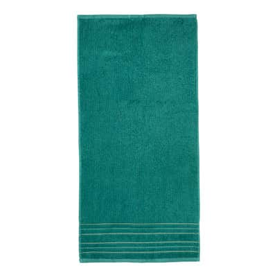 Handtuch mit Glitzer-Bordüre, 50x100cm