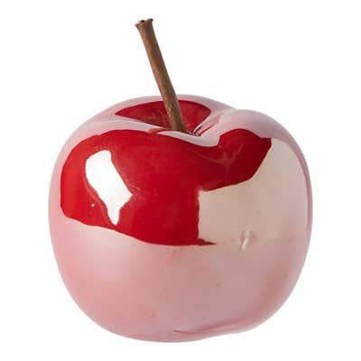 Deko-Apfel, ca. 8x8x10cm