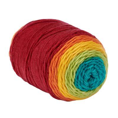 Handstrickgarn mit Farbverlauf, 200g