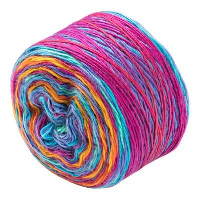 Handstrickgarn mit Farbverlauf, 150g