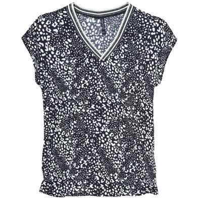 Damen-T-Shirt mit glänzenden Akzenten