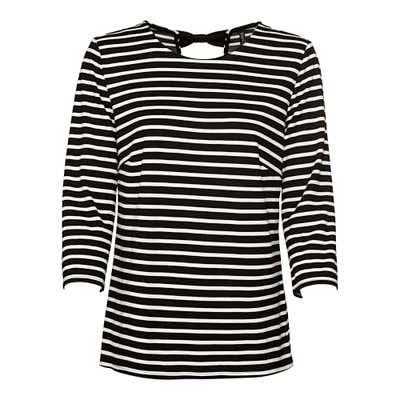 Damen-Shirt mit Schleife am Rücken