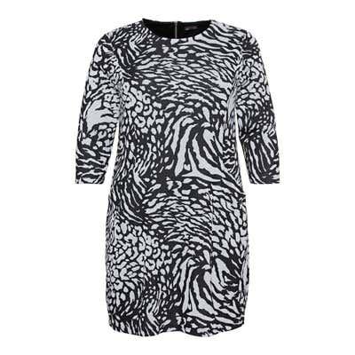 Damen Kleid mit Trend-Muster, große Größen
