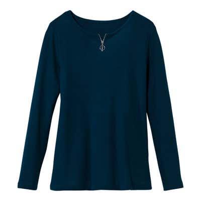 Damen-Pullover mit modischer Struktur