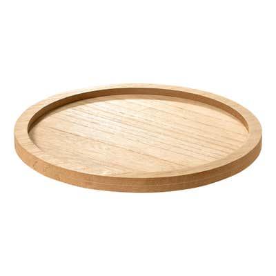 Deko-Platte aus natürlichem Holz, Ø ca. 26cm