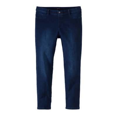Damen-Jeans mit Wasch-Effekten, große Größen