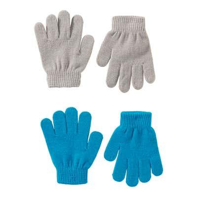 Kinder-Strickhandschuhe, 2er Pack