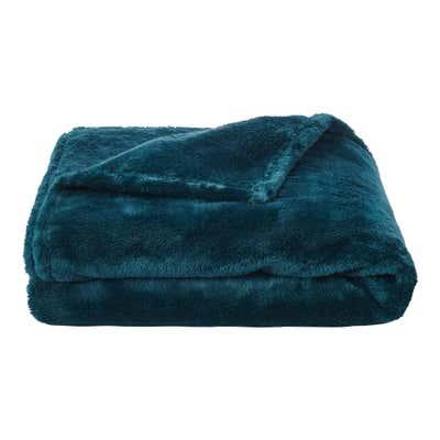 Wohndecke aus fluffigem Fleece, ca. 150x200cm