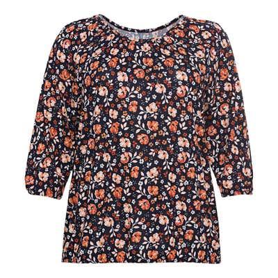 Damen-Shirt mit Trend-Muster, große Größen