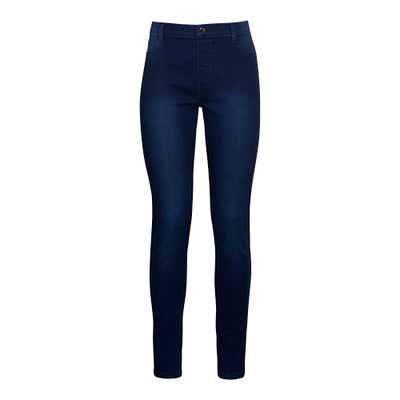 Damen-Jeans mit modischen Waschungen