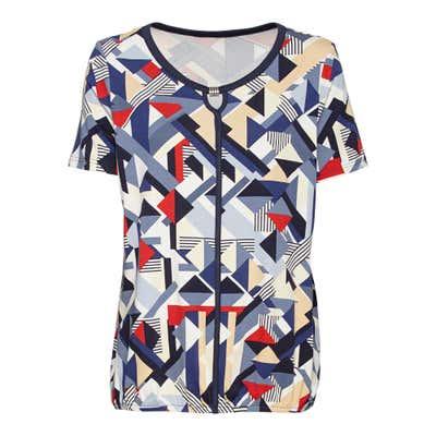 Damen-T-Shirt mit Trend-Muster