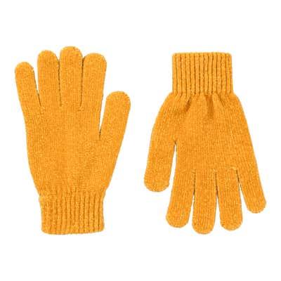 Damen-Handschuhe aus Chenillegarn