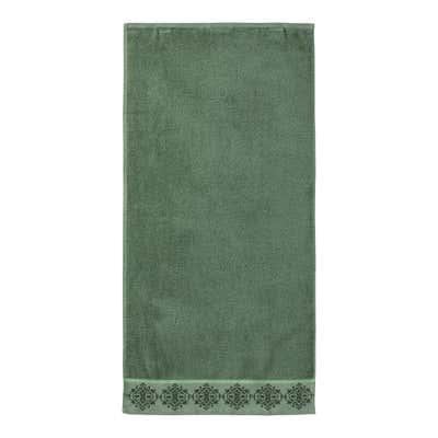Handtuch mit Ornament-Bordüre, 50x100cm