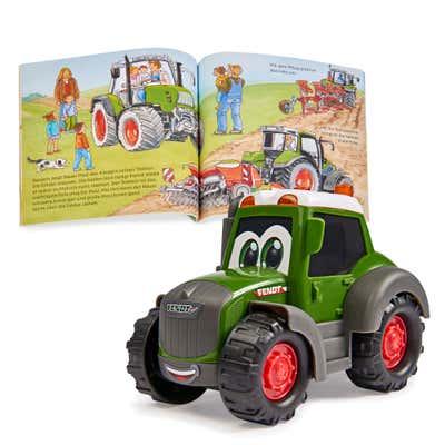 Dickie Was ist Was - Bauernhof inklusive Fahrzeug, ca. 10cm
