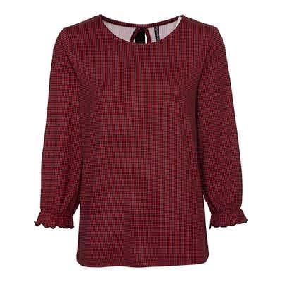 Damen-Shirt mit Zierschleife