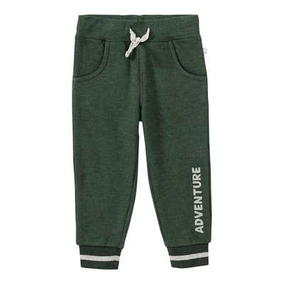 Baby-Jungen-Jogginghose in Melange-Optik