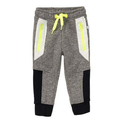 Baby-Jungen-Jogginghose mit Kontrast-Einsätzen