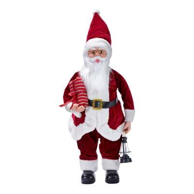 Deko-Figur im Santa-Claus-Design, ca. 60x33x21cm