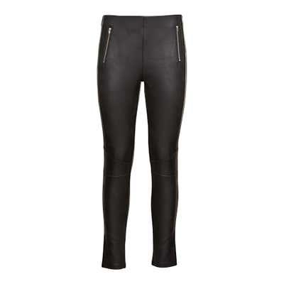 Damen-Leggings in Leder-Optik