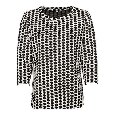 Damen-Sweatshirt mit Jacquard-Muster