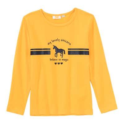 Mädchen-Shirt aus reiner Baumwolle