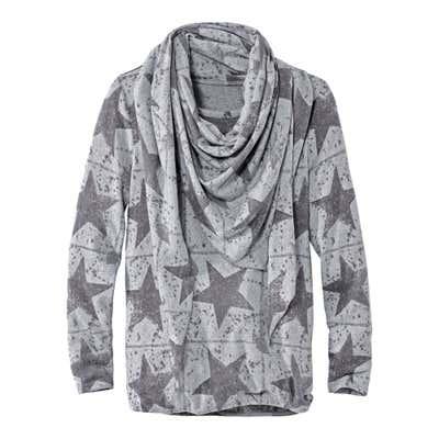 Damen-Pullover mit Schal