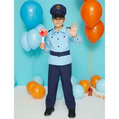 Kinderkostüm Polizist mit Hut