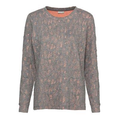 Damen-Sweatshirt mit Jacquard-Design