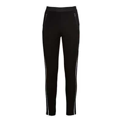 Damen-Joggpants mit seitlichen Kontrast-Streifen