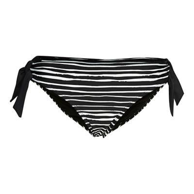 Damen-Bikini-Hose mit seitlichen Zierbändern