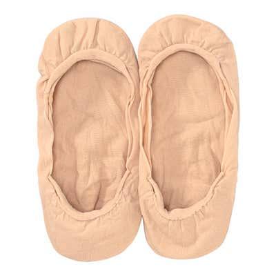 Damen-Füßlinge aus Nylon, 2er-Pack