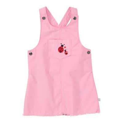 Baby-Mädchen-Kleid mit Brusttasche