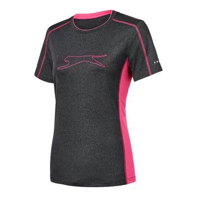Damen-T-Shirt mit Reflektoren