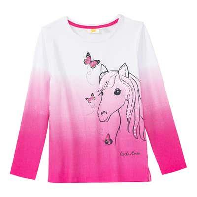Mädchen-Shirt mit Farbverlaufs-Optik