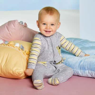 Baby-Strampler mit langen Ärmeln