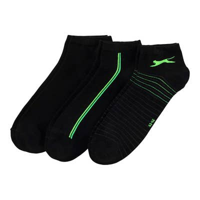 Slazenger Herren-Sport-Sneaker-Socken, 3er-Pack