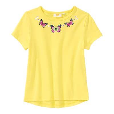 Mädchen-T-Shirt mit Schmetterlings-Motiven