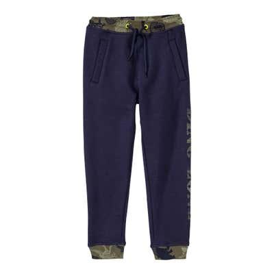 Jungen-Jogginghose mit Camouflage-Muster