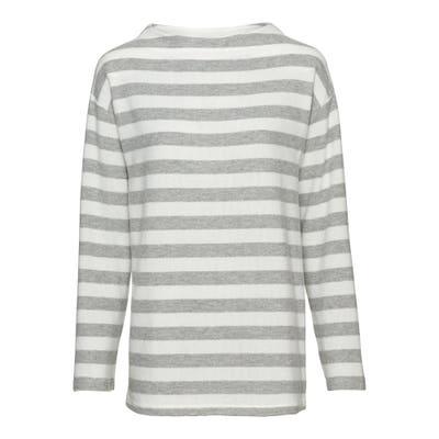 Damen-Sweatshirt mit Streifenmuster