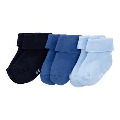Baby-Frottierflausch-Socken, 3er Pack