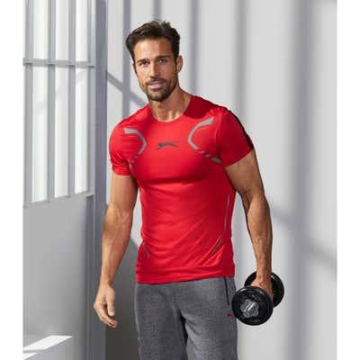 Herren-T-Shirt mit sportlichem Aufdruck