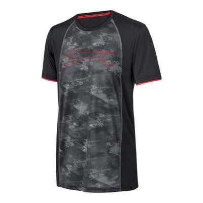 Herren-T-Shirt mit bedrucktem Einsatz
