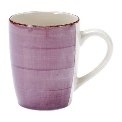 Kaffeebecher mit Handbemalung, Ø ca. 9x11cm, 380ml