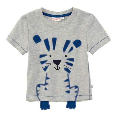 Baby-Jungen-T-Shirt mit Pfötchen