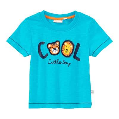 Baby-Jungen-T-Shirt mit Tier-Applikation