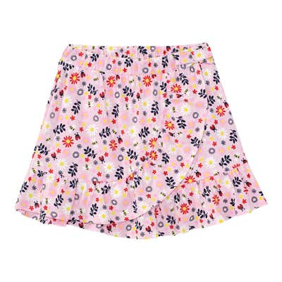 Kinder-Mädchen-Rock mit Blumen-Muster