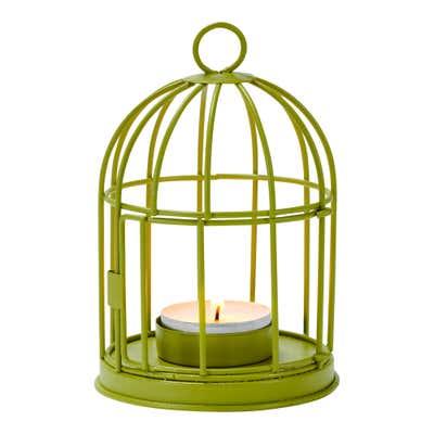 Deko-Vogelkäfig aus Metall, ca. 9x9x13cm